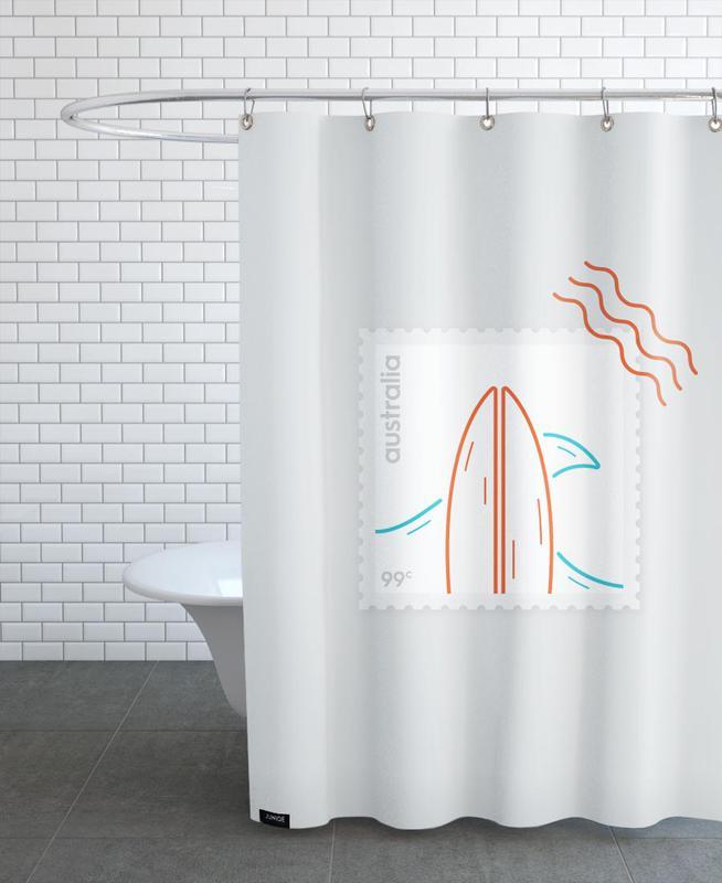Surf -Duschvorhang