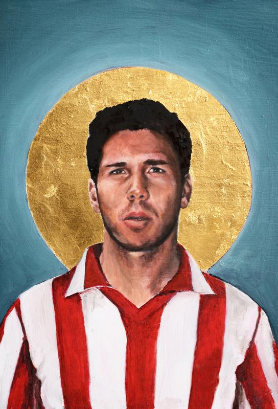 Football Icon - Diego Simeone Aluminium Print