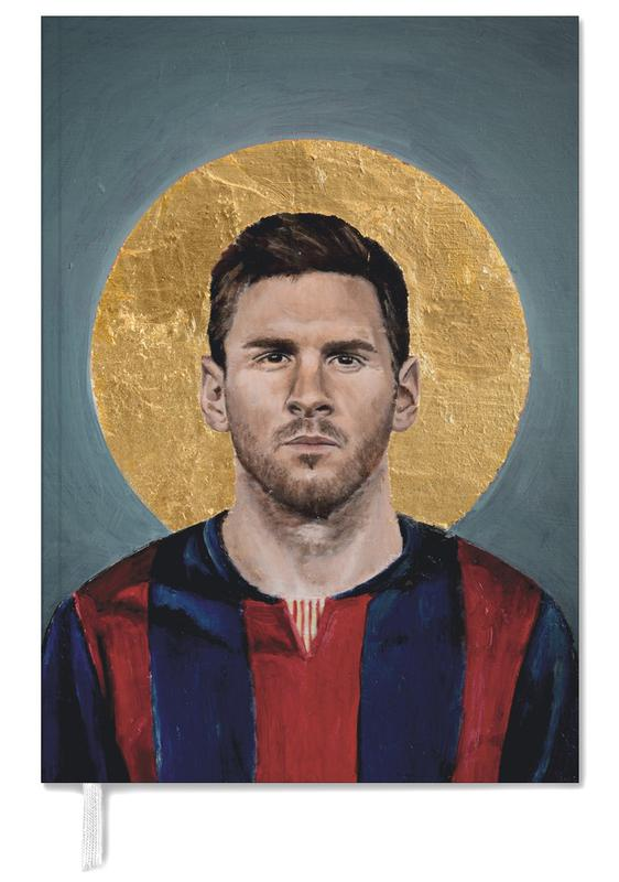 Football Icon - Lionel Messi Personal Planner
