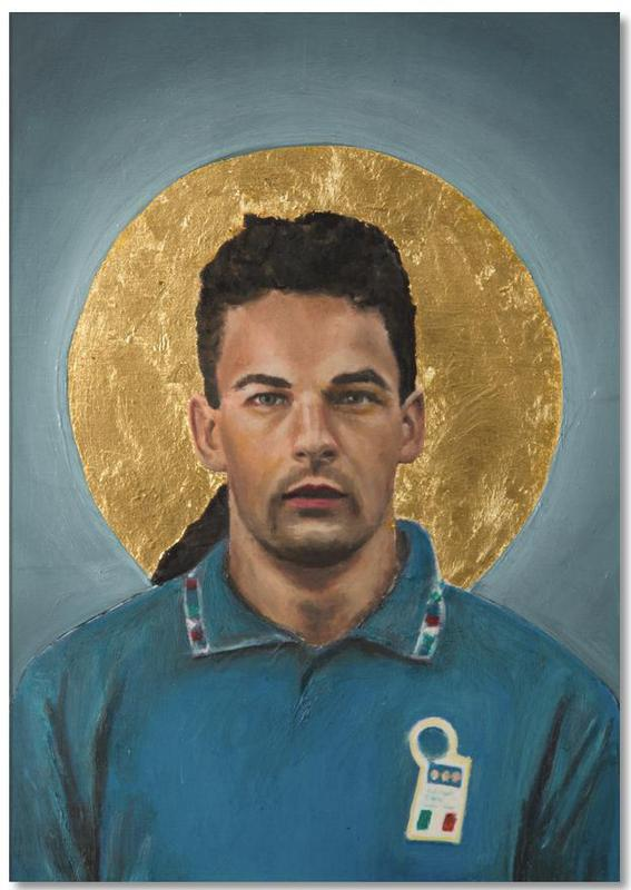 Football Icon - Roberto Baggio Notepad