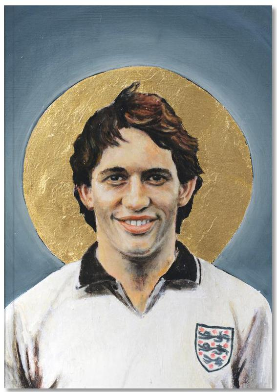 Football Icon - Gary Lineker Notebook