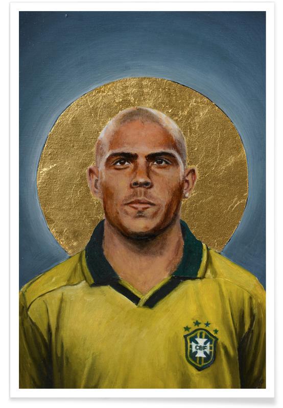Football Icon - Ronaldo -Poster