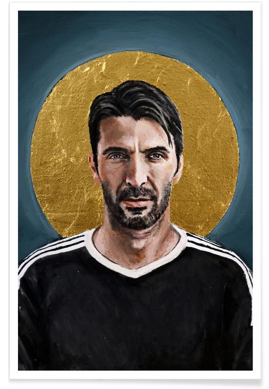 Football Icon - Buffon Poster