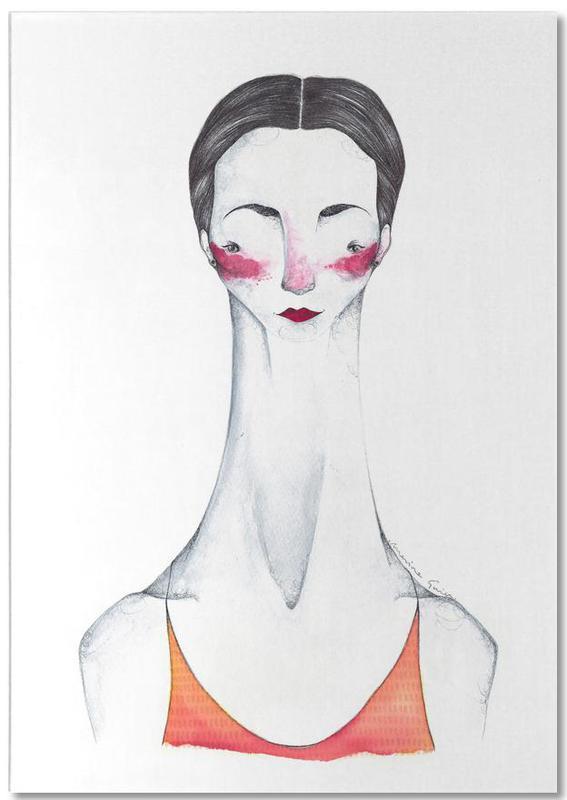 Pina Bausch Notizblock | Dekoration > Accessoires | Mehrfarbig | Papier