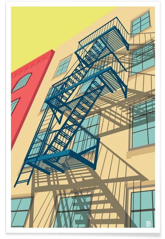 Greenwich Village New York City Poster
