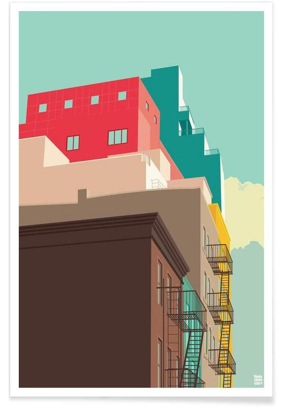 Lower East Side New York City Poster