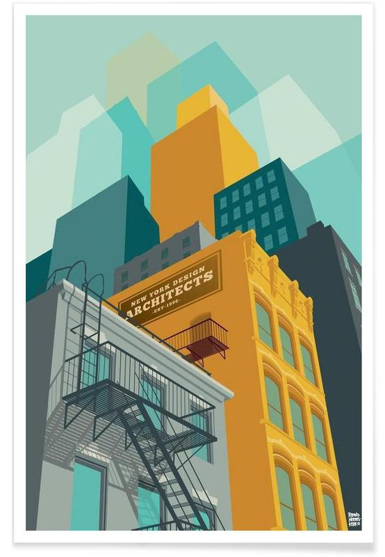 Tribeca New York City Poster