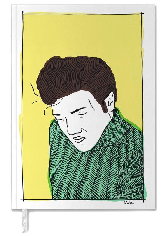 Elvis Yellow Personal Planner