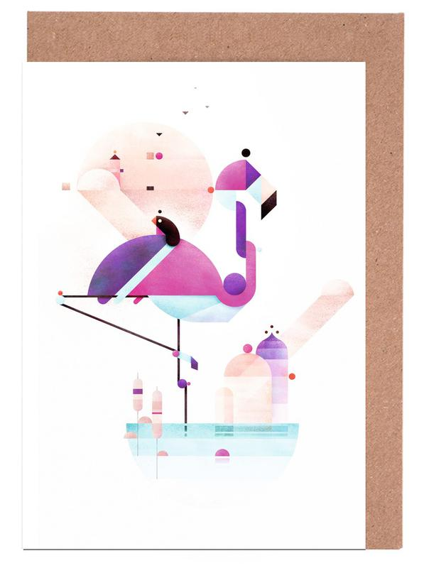 Placido Flamingo cartes de vœux
