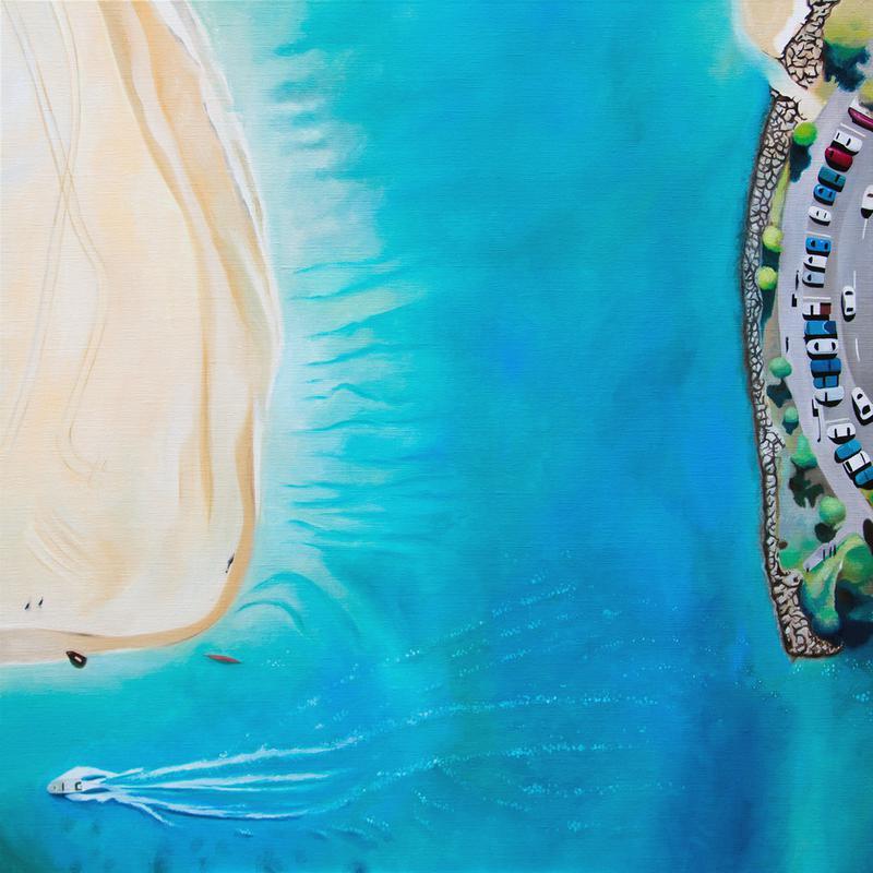 Noosa Beach alu dibond