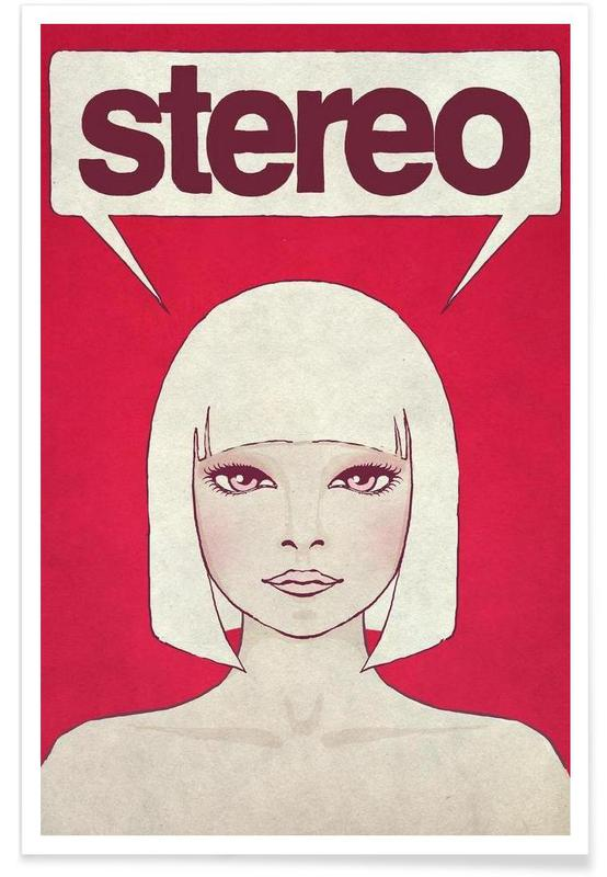 Stereo -Poster