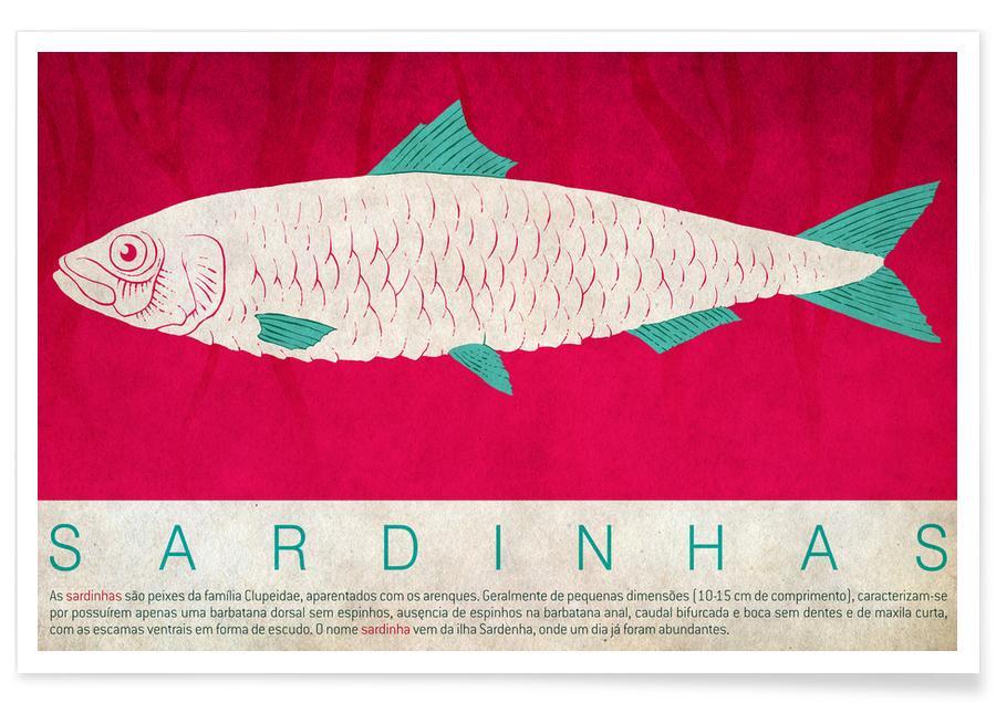 Sardinhas affiche