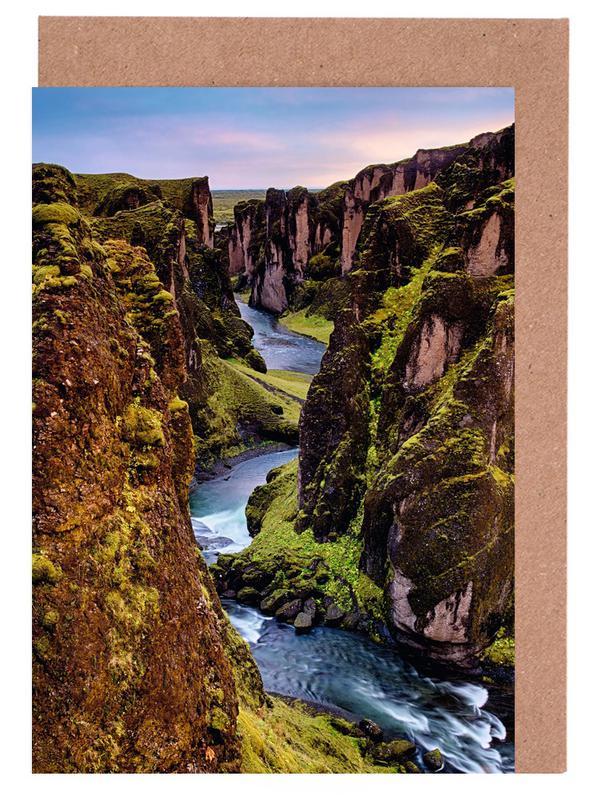Sunset at the Canyon Greeting Card Set