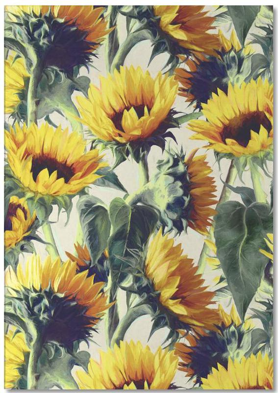 Sunflowers Forever Notepad