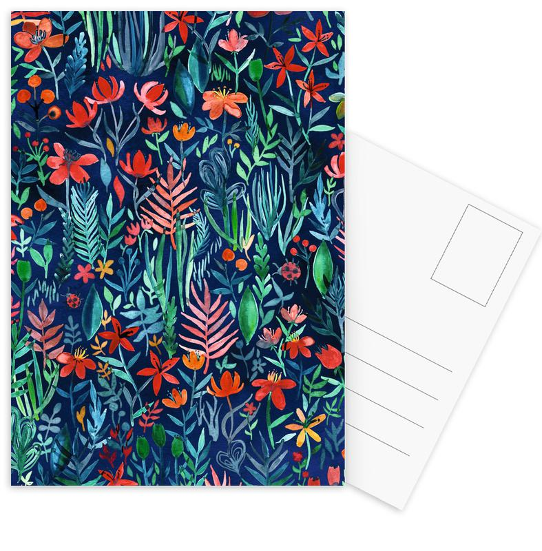 Tropical Ink Postcard Set