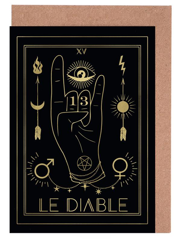Le Diable Greeting Card Set