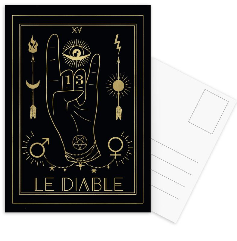 Le Diable Postcard Set