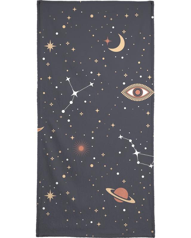 Mystical Galaxy Bath Towel
