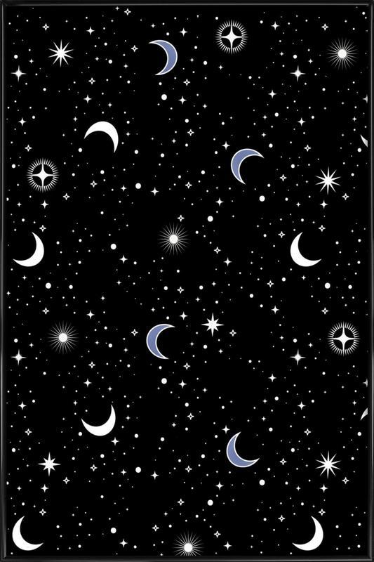 Stars Holiday -Bild mit Kunststoffrahmen