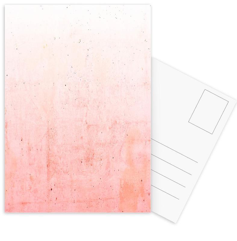 Pink Ombre Postcard Set