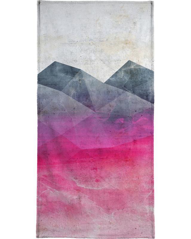 Pink Concrete serviette de plage