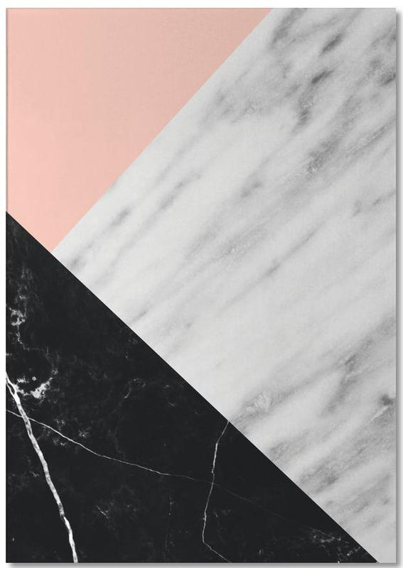 Marble Collage Notepad