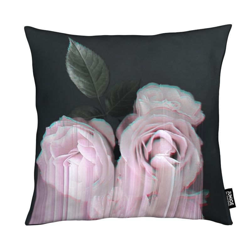 Fall in Rose coussin