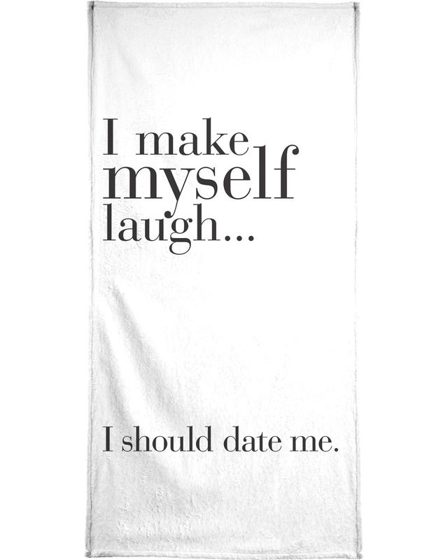 Date me -Handtuch