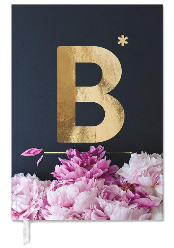Flower Alphabet B Personal Planner