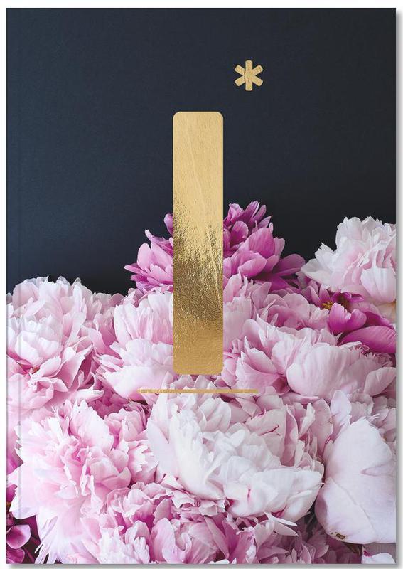 Flower Alphabet I Notebook