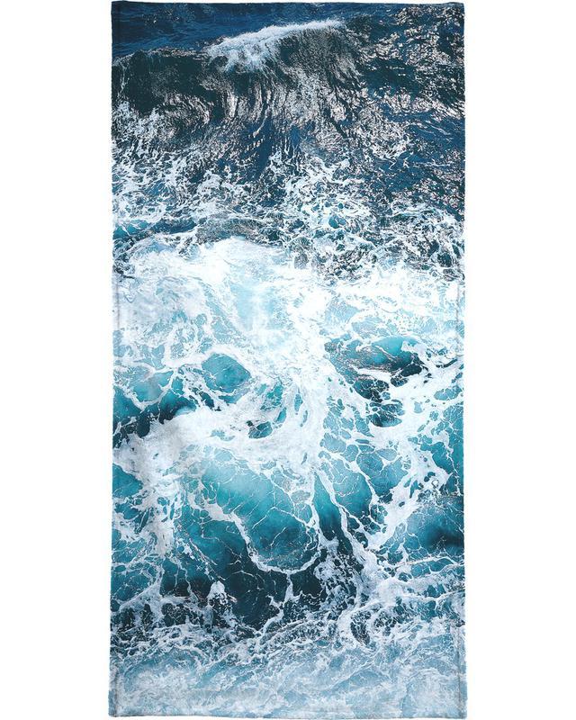 Blautöne des Meeres I -Handtuch