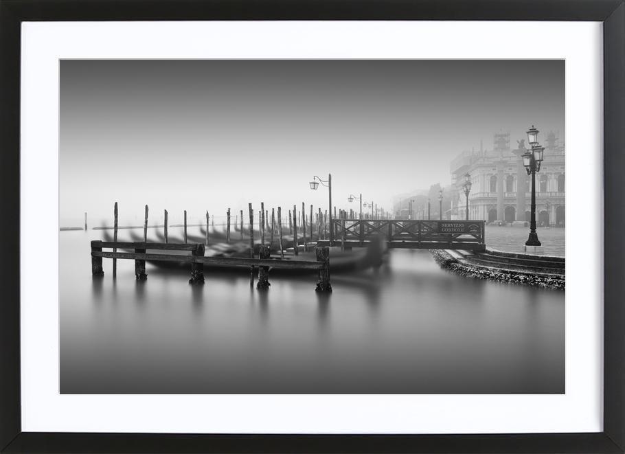 Venedig - Gondola Study 2 Framed Print
