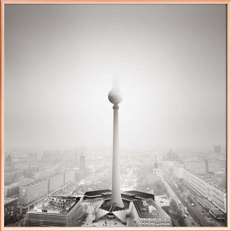 Ode to Berlin Poster im Alurahmen