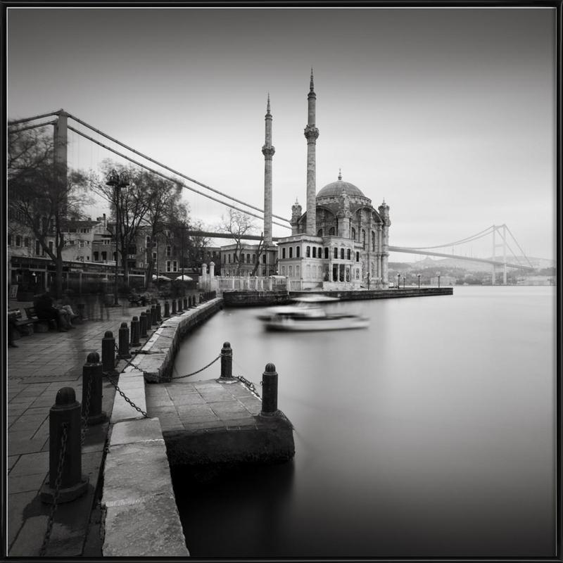 Büyük Mecidiye Camii, Istanbul Framed Poster