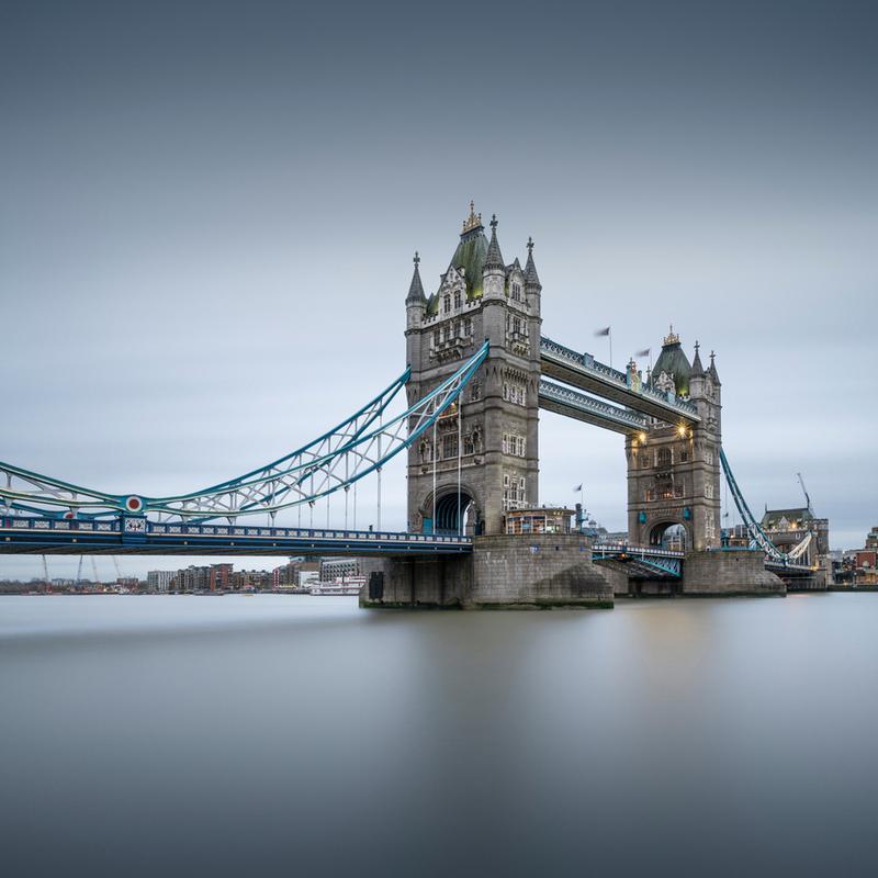 London - Tower Bridge -Leinwandbild