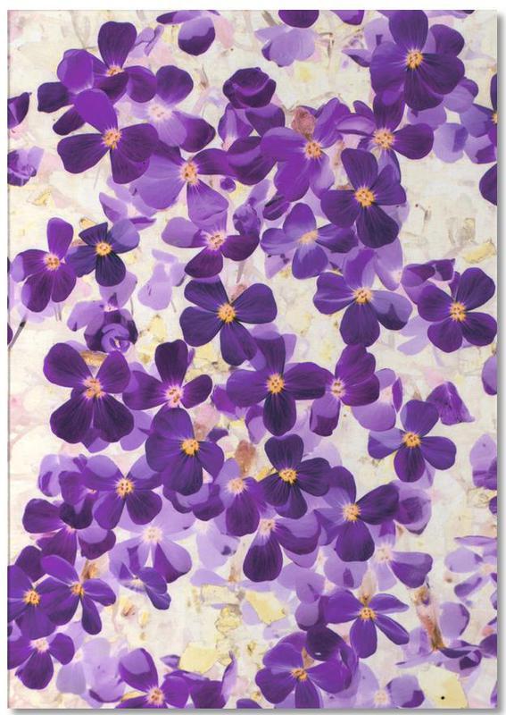 Violet Bloom Notizblock   Dekoration > Accessoires
