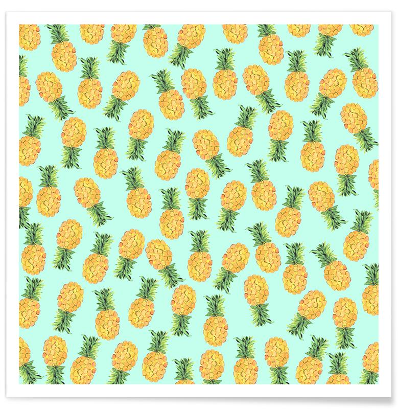Pineapples Poster