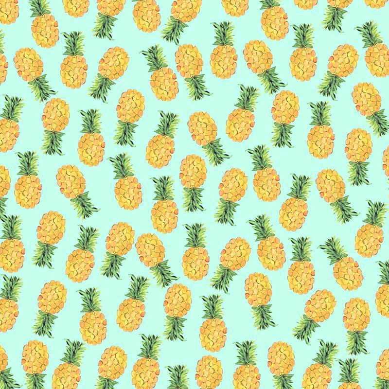 Pineapples Alu Dibond Druck