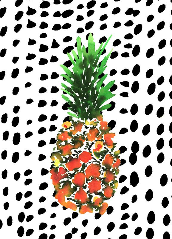 Pineapple -Leinwandbild
