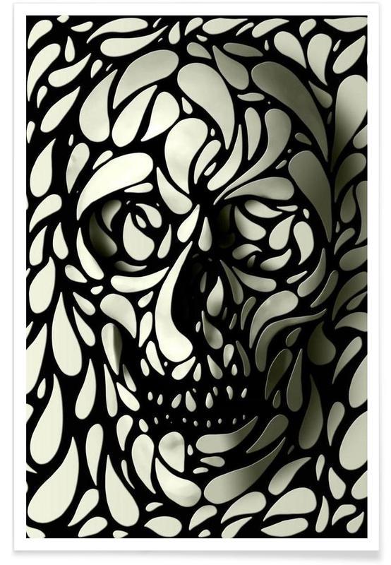 Skull IV Poster