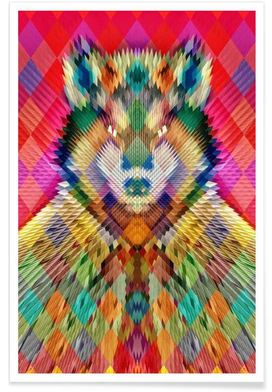 Corporate Wolf Poster