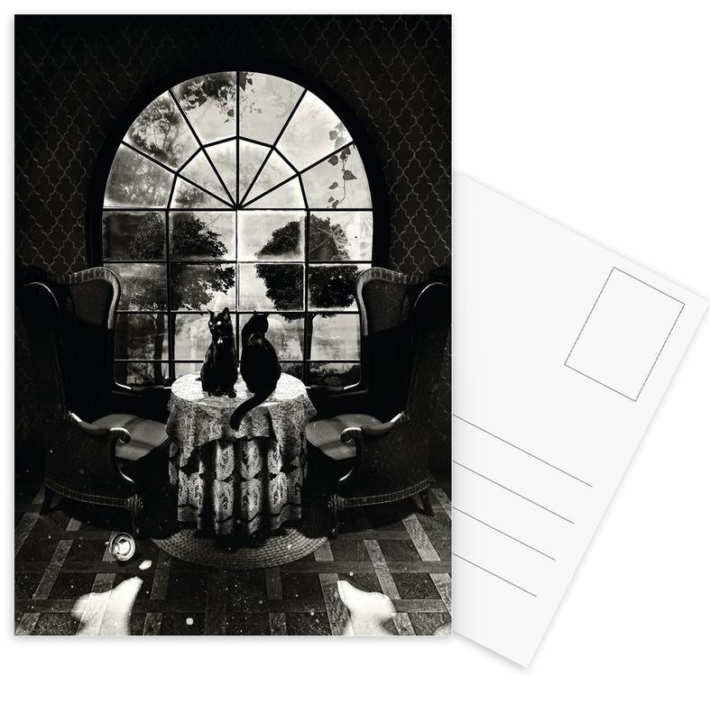 Room Skull Postcard Set
