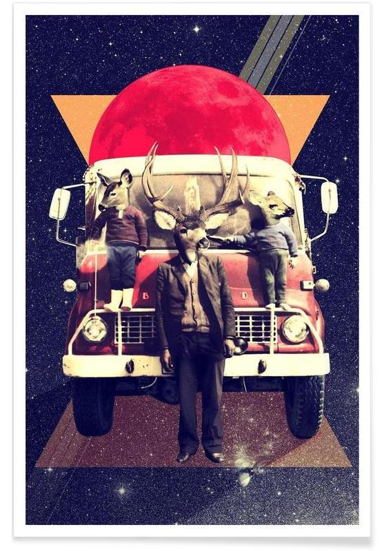 El Camion -Poster