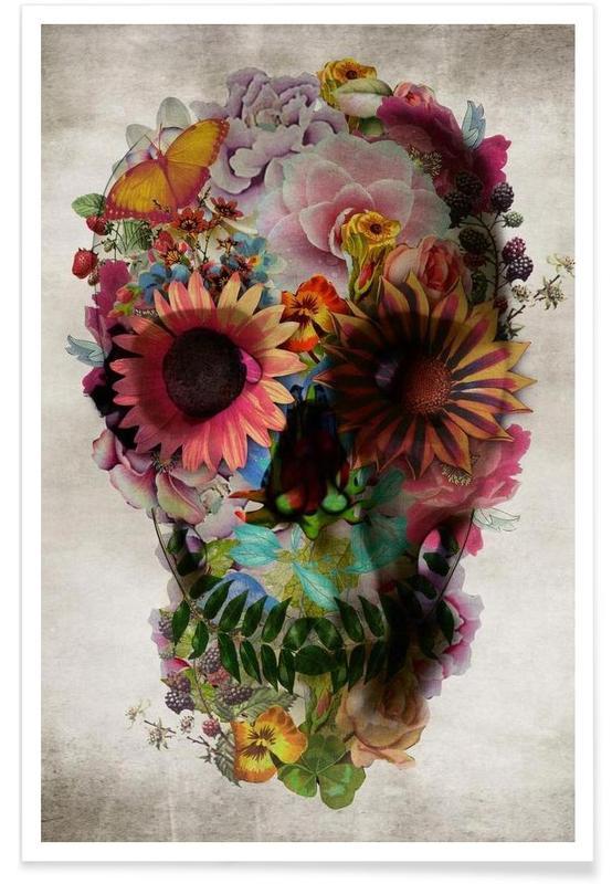 Skull II Poster