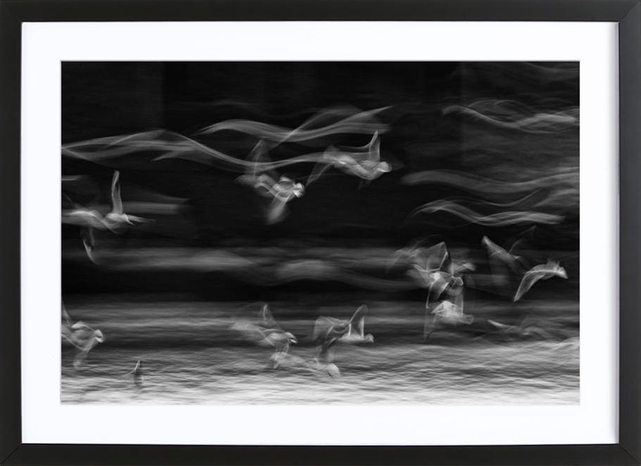 The boundary between reality and fantasy - Ebrahim Bonab Framed Print