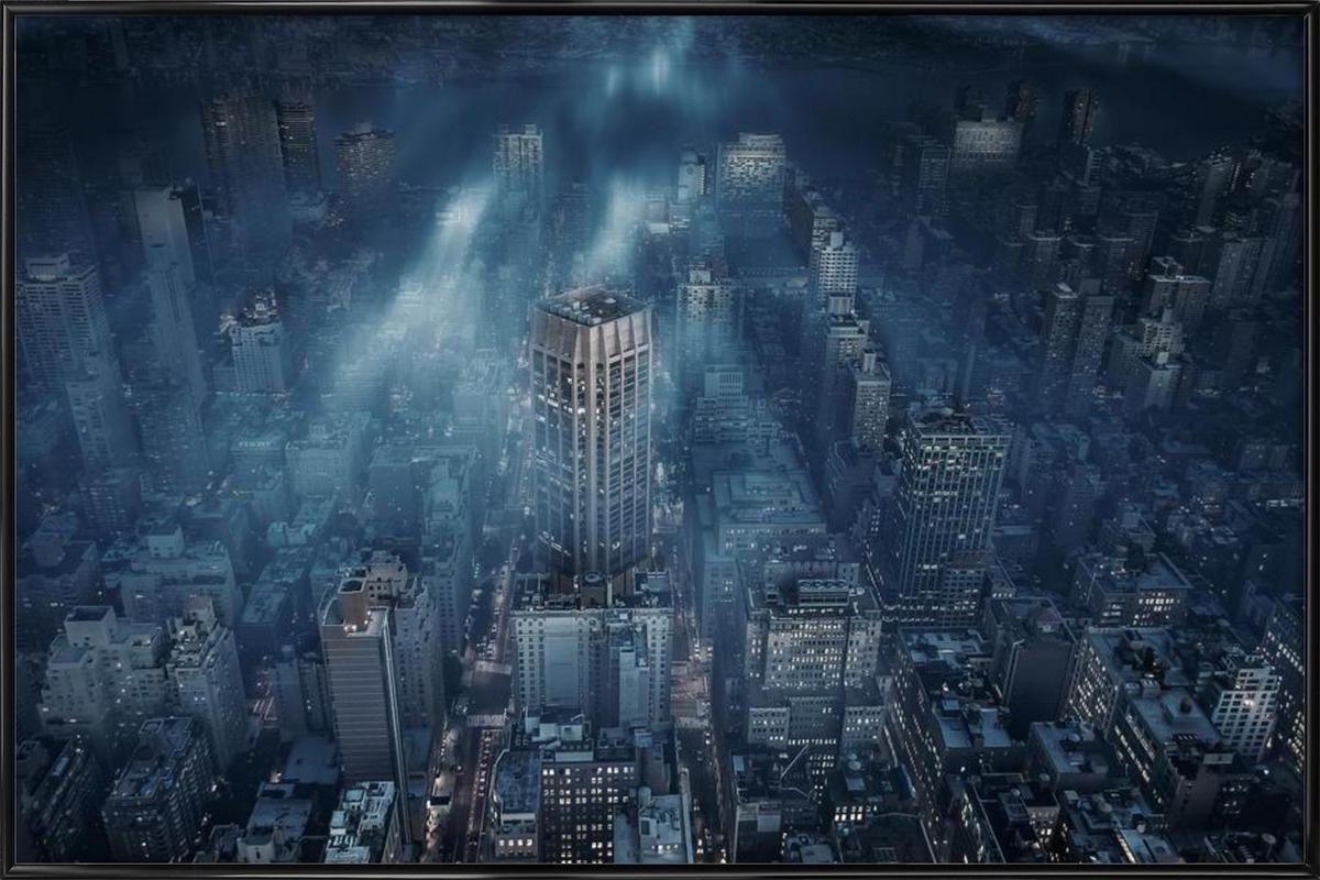 NYC - Leif Løndal Framed Poster
