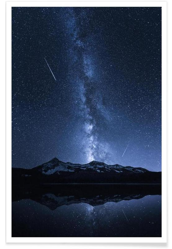 Galaxies Reflection - Toby Harriman -Poster