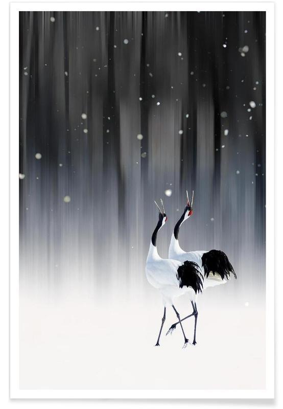 Happy New Year - Ikuo Iga poster