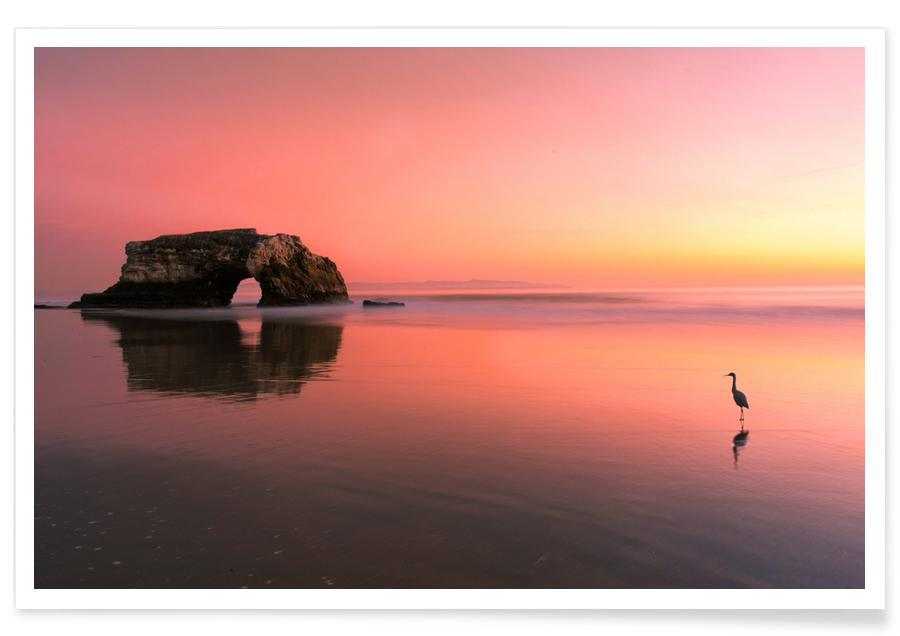 Sunset at the Natural Bridge 2 - Rob Li Poster