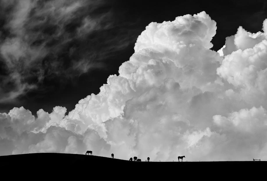 The Calm Before The Storm - Gloria Salgado Gispert Acrylic Print